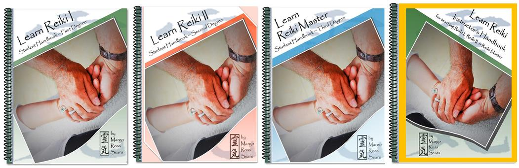 Learn Reiki covers